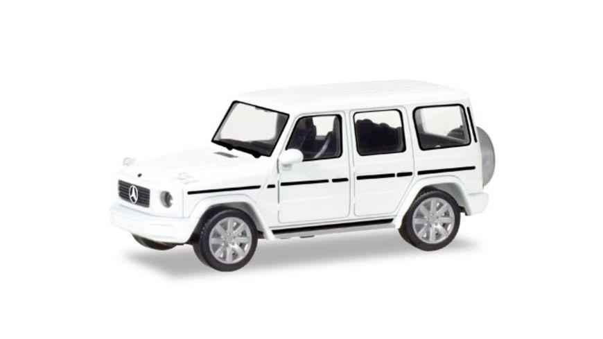 Herpa 420280 Mercedes Benz G Modell polarweiss