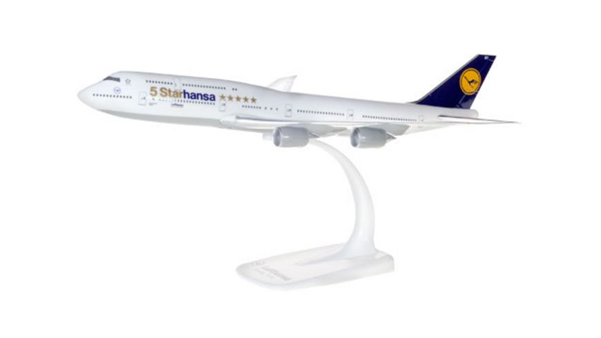 Herpa 611978 Lufthansa Boeing 747 8 Intercontinental Starhansa