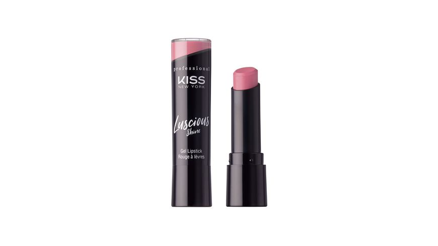 KISS Professional New York Luscious Gel Shine Lipstick