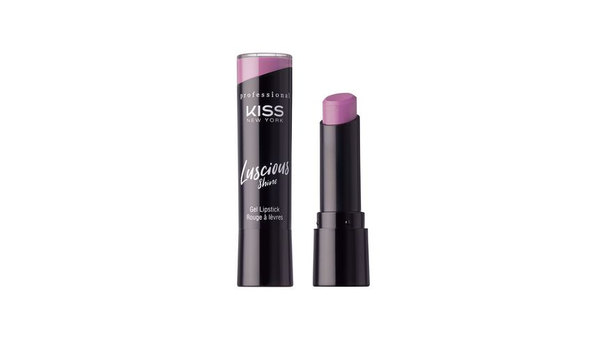 KISS Professional New York Luscious Gel Shine Lipstick