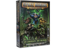 Amigo Space Marine Adv Labyrinth of the Necron