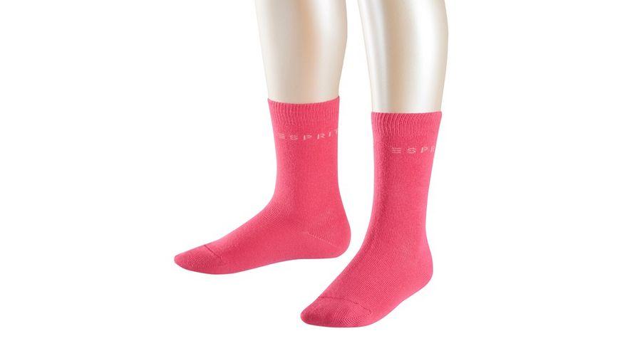 ESPRIT Kinder Socken Foot Logo 2er Pack