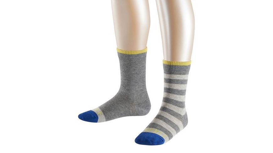 ESPRIT Kinder Socken Melange Stripe 2er Pack