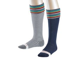 ESPRIT Kinder Socken Stripe Logo 2er Pack