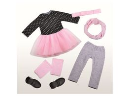 Mueller Toy Place Modern Girl Ballerina Outfit ohne Puppe