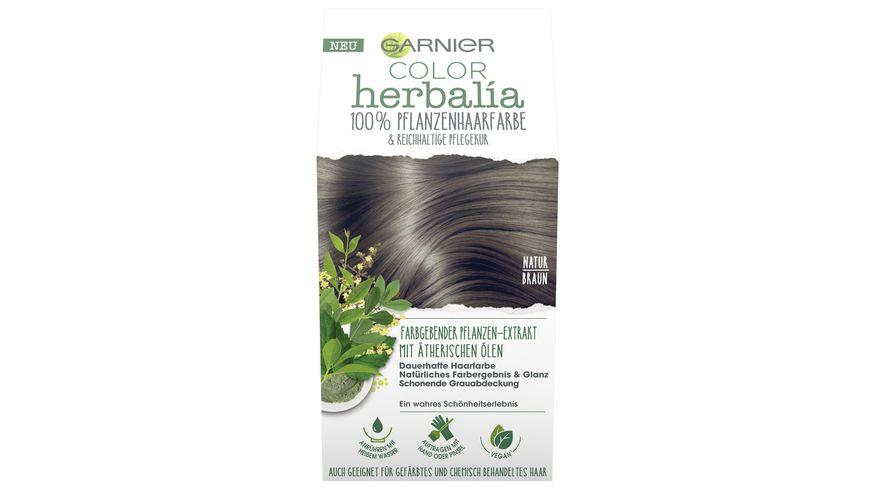 GARNIER Color Herbalia Naturbraun
