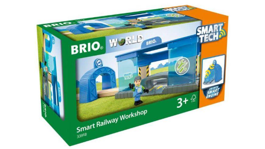 BRIO Bahn Smart Tech Eisenbahn Werkstatt