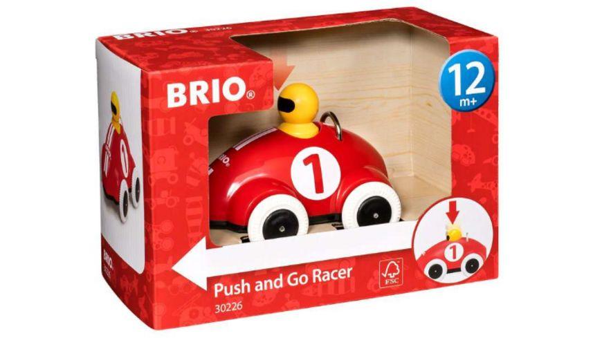 BRIO - Push & Go Rennwagen