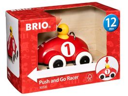 BRIO Push Go Rennwagen
