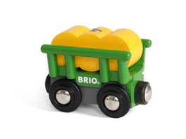 BRIO Bahn Heuwagen mit Kippfunktion