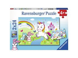 Ravensburger Spiel Suesse Pferdefotos 2x24 Teile