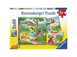 Ravensburger Spiel Maerchen 3x49 Teile