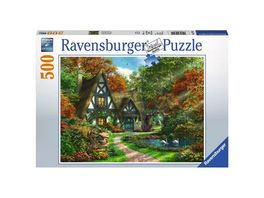 Ravensburger Puzzle Cottage im Herbst 500 Teile