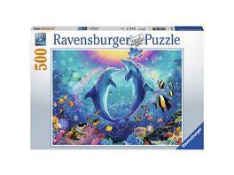 Ravensburger Puzzle Tanz der Delphine 500 Teile