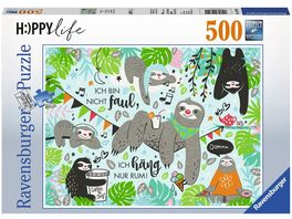 Ravensburger Puzzle Faultier Paul 500 Teile
