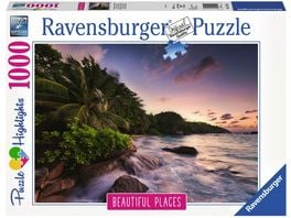 Ravensburger Puzzle Insel Praslin auf den Seychellen 1000 Teile