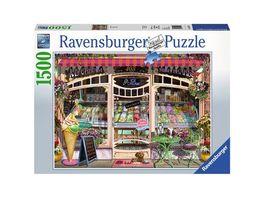 Ravensburger Puzzle Ice Cream Shop 1500 Teile