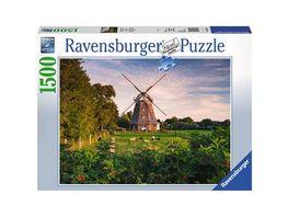 Ravensburger Puzzle Windmuehle an der Ostsee 1500 Teile
