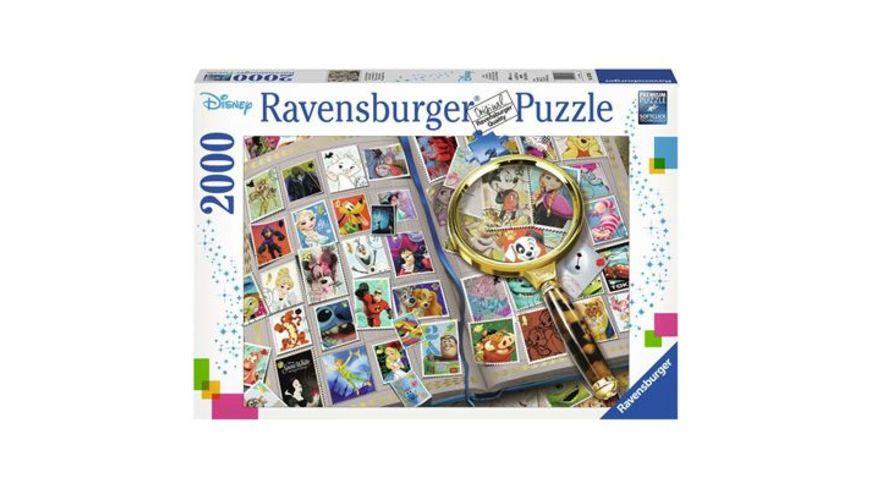Ravensburger Spiel Meine liebsten Briefmarken 2000 Teile