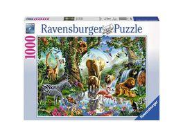 Ravensburger Puzzle Abenteuer im Dschungel 1000 Teile