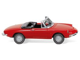 Wiking 0206 01 Alfa Spider rot
