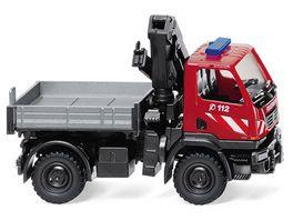Wiking 060131 Feuerwehr Unimog U 20 mit Ladekran