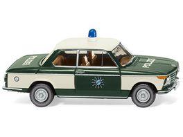Wiking 018305 Polizei BMW 2002