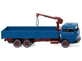 Wiking 043307 Hochbordpritschen Lkw MB LP 2223 azurblau