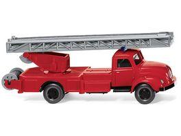 Wiking 062002 Feuerwehr Drehleiter Magirus S 3500