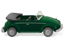 Wiking VW Kaefer Cabrio yuccagruen metallic