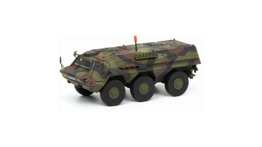 Schuco Military 1 87 Fuchs Transportpanzer Bundeswehr flecktarn 1 87