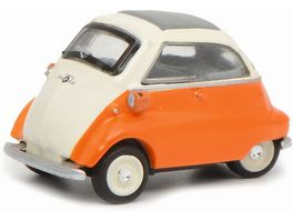 Schuco Edition 1 87 BMW Isetta beige orange