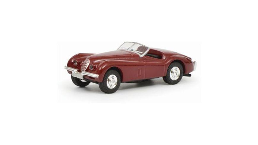 Schuco Edition 1 87 Jaguar XK 120 rot