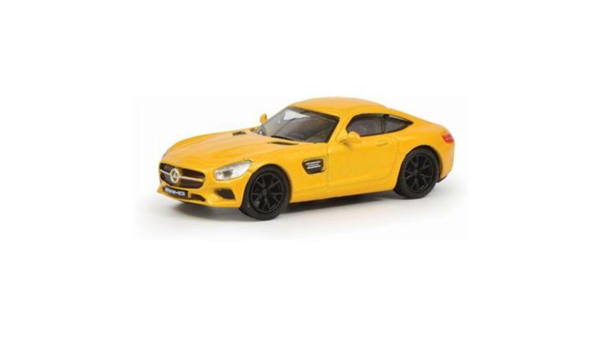 Schuco Edition 1 87 Mercedes Benz AMG GT gelb