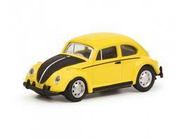 Schuco VW Kaefer gelb schwarz 1 87