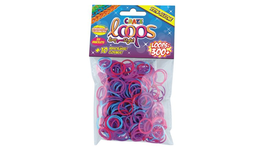 CRAZE Loops Refill Pack 300 Mix