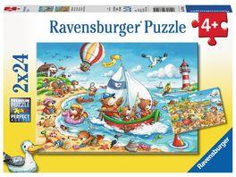 Ravensburger Spiel Am Meer 2x24 Teile