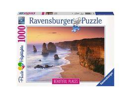 Ravensburger Puzzle Great Ocean Road Australien 1000 Teile