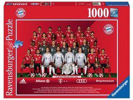 Ravensburger Puzzle FC Bayern Saison 2018 19 1000 Teile