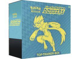 Pokemon Sammelkartenspiel Top Trainer Box der Erweiterung Sonne Mond Echo des Donners