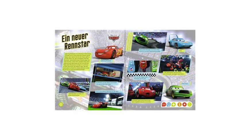 Ravensburger Buch tiptoi Cars