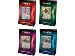 Wizards of the Coast Magic The Gathering Commander 2018 Deck sortiert