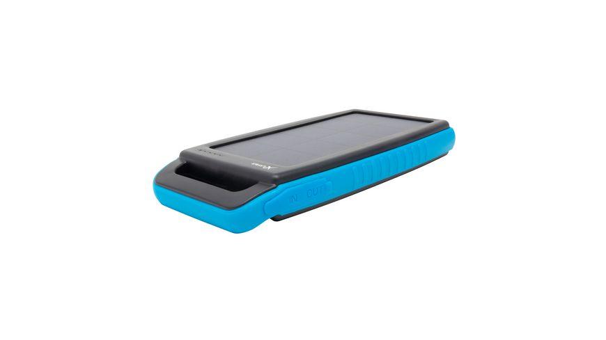 Zusatzakku Powerbank PLUS Solar Black Orange 15000mAh Smartphones Tablets