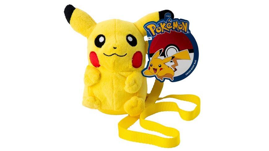 POKEMON Pluesch Schultertasche Pikachu