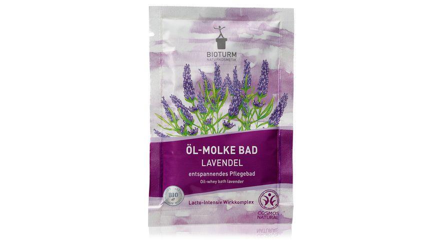 BIOTURM Öl-Molke Bad Lavendel Nr.118