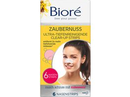 Biore Zaubernuss ultra tiefenreinigende Clear Up Strips