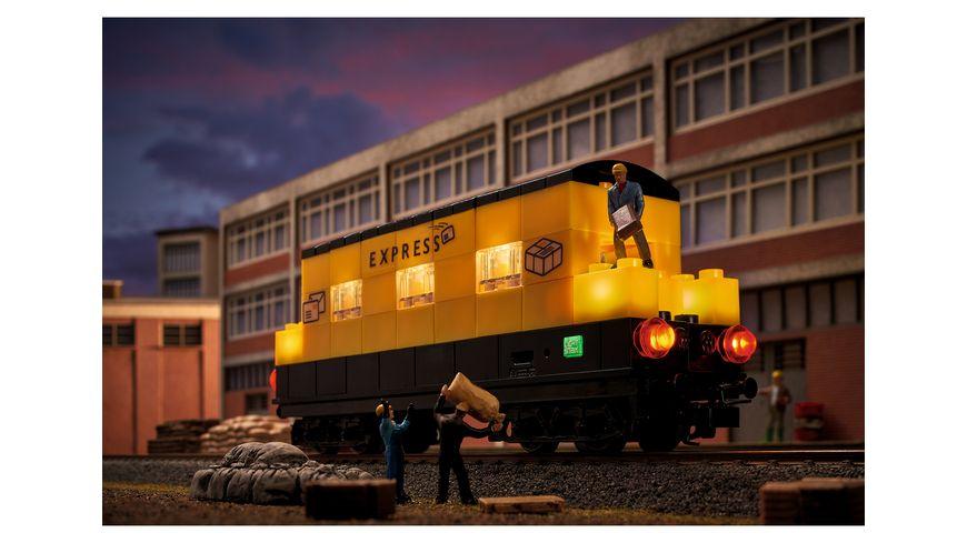 Maerklin 44737 Start up Bausteinwagen mit Lichtbausteinen