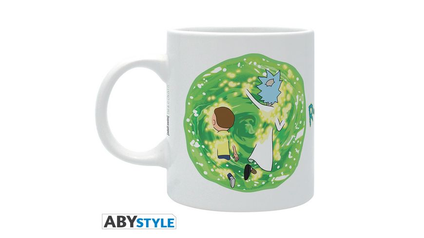 Rick Morty Portal Tasse 320 ml
