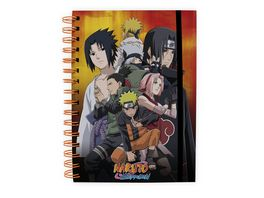 Naruto Konoha Gruppe Notizbuch