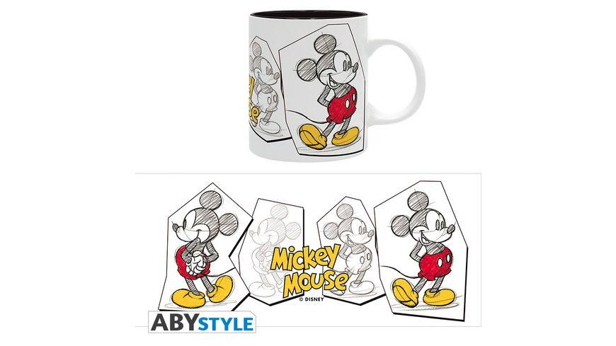 Disney Mickey Skizze Tasse 320 ml